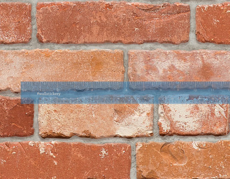 brick pattern contact paper prepasted wallpaper wall
