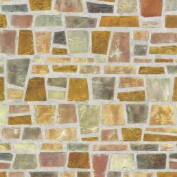 Shard Brick Contact Paper Peel and Stick Wallpaper Pattern