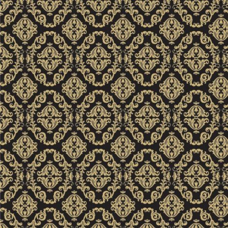 Gold Black Contact Paper Peel and Stick Wallpaper HWP-043 Listing