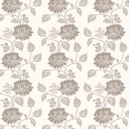 Sepia Flower Contact Paper Peel and Stick Wallpaper HWP-055 Pattern