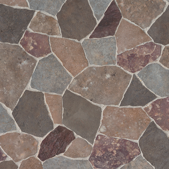 Large Fragment Tile Pattern Contact Paper