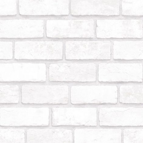 Cotton Brick Contact Paper Peel and Stick Wallpaper Detail