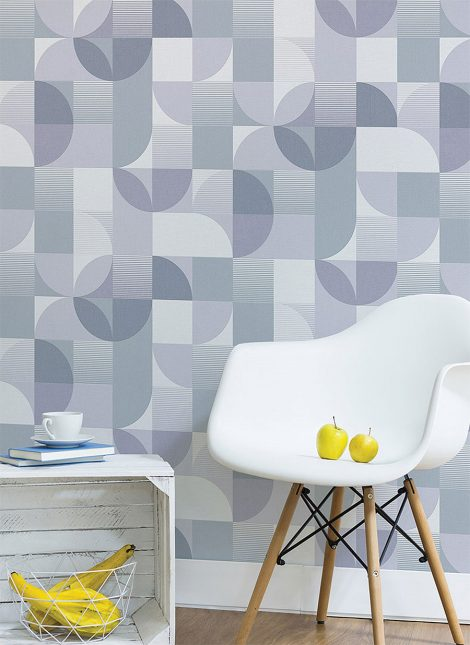 Modern Pattern Contact Paper Peel and Stick Wallpaper HWP-21642 Dispaly