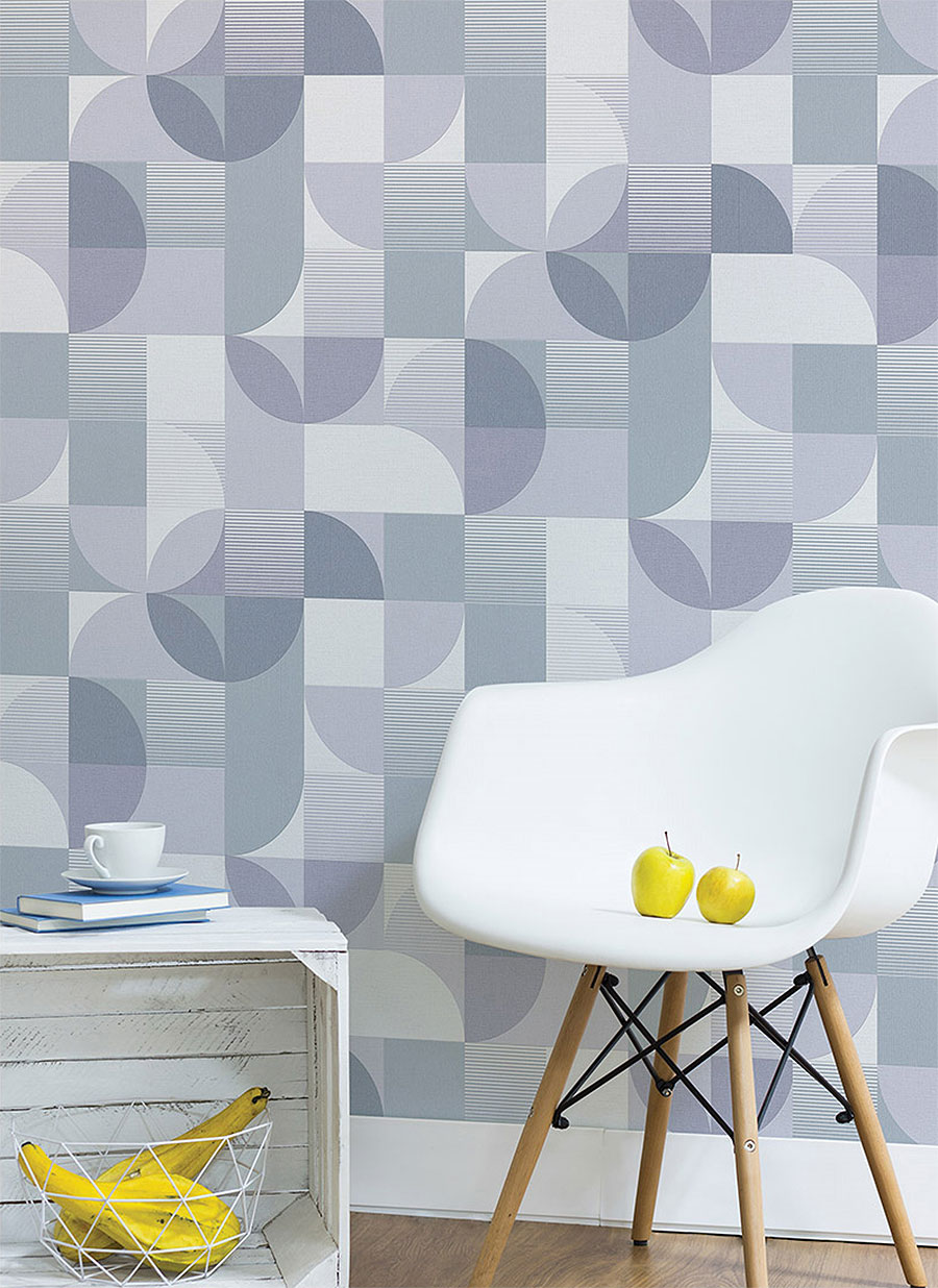 Modern pattern contact paper peel and stick wallpaper for White self adhesive wallpaper