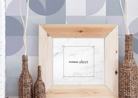 Modern Pattern Contact Paper Peel and Stick Wallpaper HWP-21642 Application