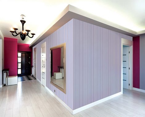 Purple Lane Contact Paper Peel and Stick Wallpaper Application