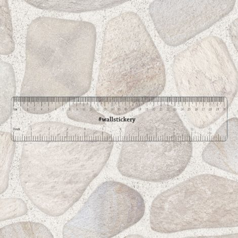 Stone Brick Contact Paper Peel Stick Wallpaper Wall Stickers Pattern Size