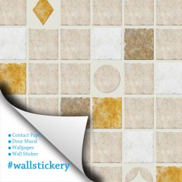 Cookie Tile Contact Paper Peel and Stick Wallpaper Listing