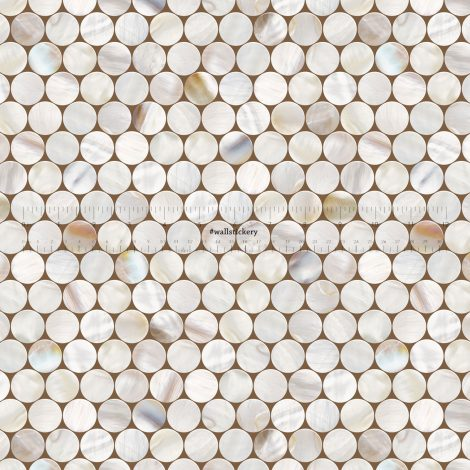 Cell Tile Contact Paper Peel and Stick Wallpaper pattern size