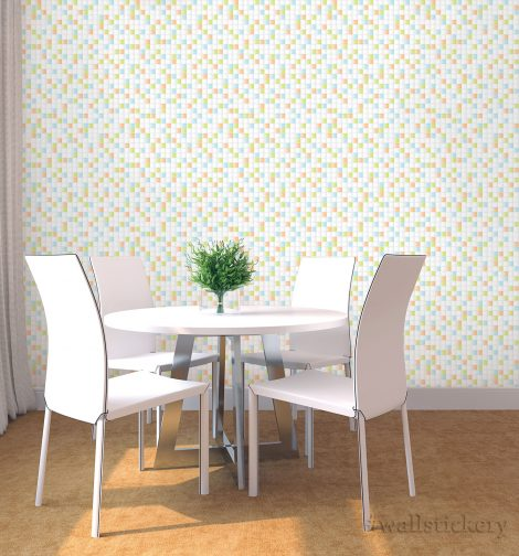 Mix Candy Tile Contact Paper Peel and Stick Wallpaper Self Adhesive Display 1