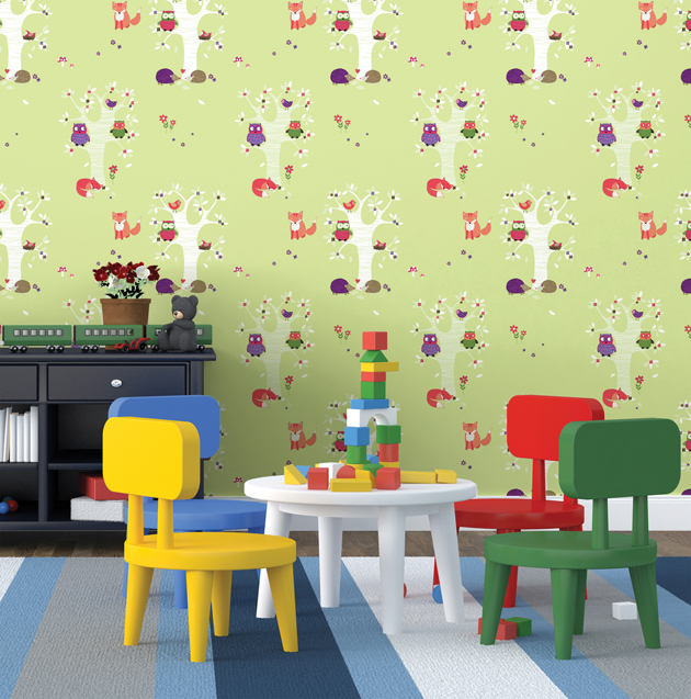 Grove Story Contact Paper Peel and Stick Wallpaper HWP-21484 Application