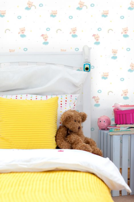 Starland Baby Bear Pattern Contact Paper Peel and Stick Wallpaper HWP-21488 Sample 3