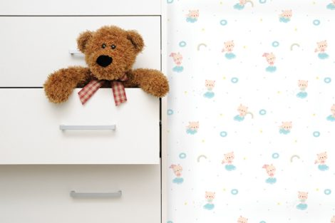 Starland Baby Bear Pattern Contact Paper Peel and Stick Wallpaper HWP-21488 Sample 2