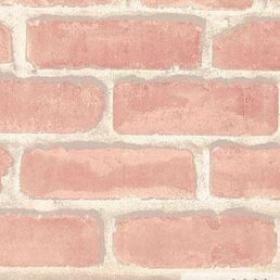 Moderate Red Brick Contact Paper Peel Stick Wallpaper DBS-02