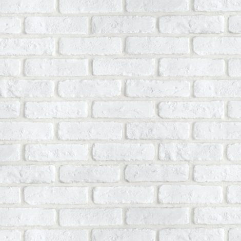 Soft White Brick Contact Paper Peel and Stick Wallpaper DBS-24 Pattern
