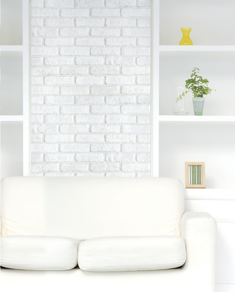 Luxury peel and stick brick wallpaper for Adhesive decoration