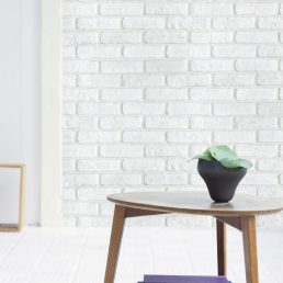 Soft White Brick Contact Paper Peel And Stick Wallpaper