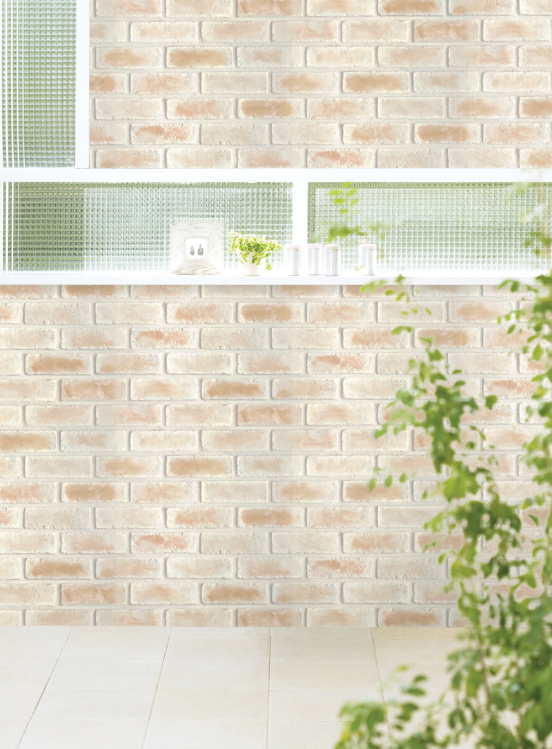 Sweet brick contact paper peel and stick wallpaper for Self stick wallpaper