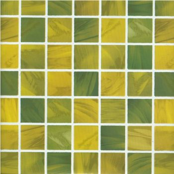 Yellow Green Square Pattern Contact Paper Peel Stick Wallpaper DPS-11