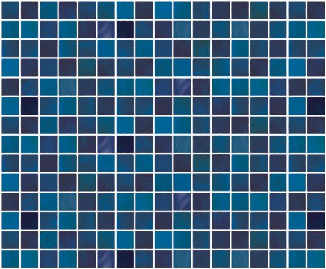 Blue Tile Pattern Contact Paper Peel and Stick Wallpaper DPS-13