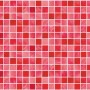 Red Tile Look Contact Paper Peel Stick Wallpaper DPS-26