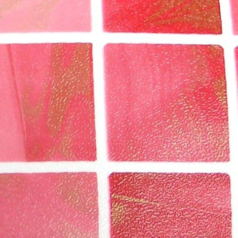 Check Pattern Red Contact Paper Peel Stick Wallpaper DPS-42 Detail