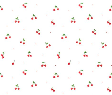 Cherry Pattern Contact Paper Self adhesive Peel Stick Wallpaper DPS-35