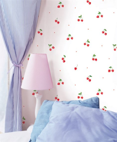 Cherry Pattern Contact Paper Self adhesive Peel Stick Wallpaper DPS-35 Application