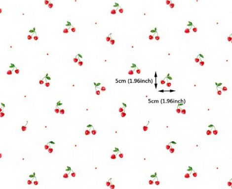 Cherry Pattern Contact Paper Self adhesive Peel Stick Wallpaper DPS-35 Pattern Size