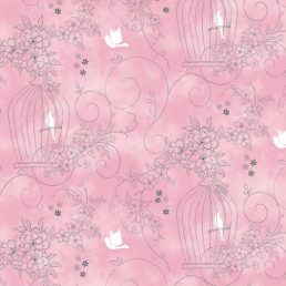 Sweet Garden Pink Contact Paper Peel Stick Wallpaper DPS-37