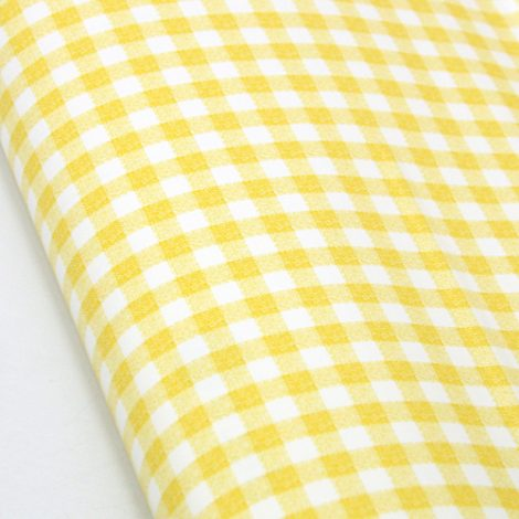 Check Pattern Yellow Contact Paper Peel Stick Wallpaper DPS-41 Roll