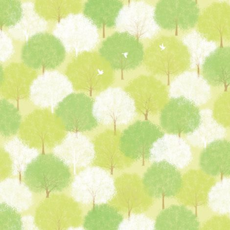 Forest Green Pattern Contact Paper Peel Stick Wallpaper DPS-60