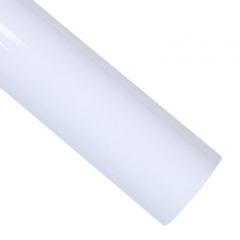 High Glossy White Contact Paper Peel Stick Countertop Sheet AWS-30001 Roll