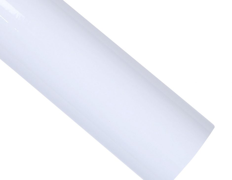 High Glossy White Contact Paper Peel Stick Countertop Sheet