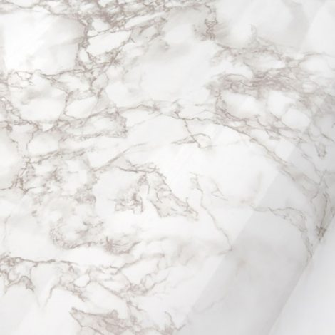 High Glossy Beige Gray Mable Contact Paper Countertop Sheet AWS-30004 Design