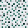 Aqua Blue Tile Looking Contact Paper Peel Stick Wallpaper DPS-66