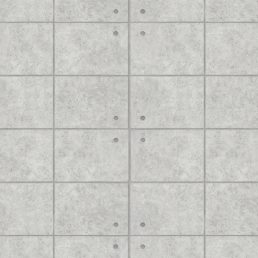 Gray Concrete Brick Contact Paper Peel Stick Wallpaper DPS-70