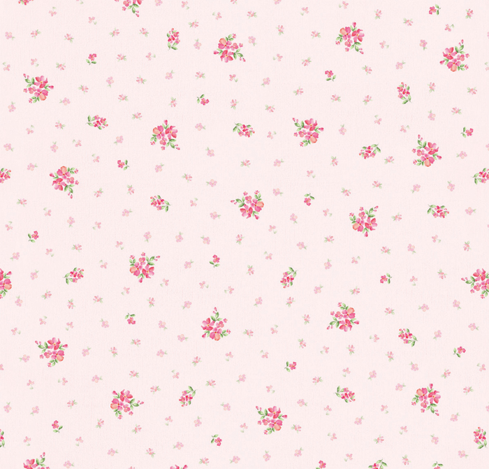 Pink Floral Contact Paper Peel And Stick Wallpaper on Pink And Brown Bathroom Decor