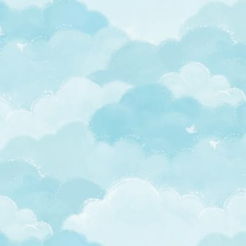 Cotton Candy Blue Contact Paper Peel and Stick Wallpaper DPS-73