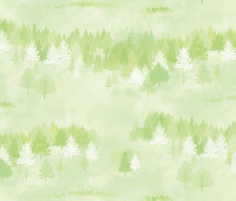 Forest Pattern Green Contact Paper Peel and Stick Wallpaper DPS-74