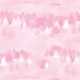 Forest Pattern Pink Contact Paper Peel and Stick Wallpaper DPS-75