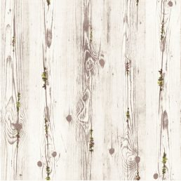 Wood Flower Gray Contact Paper Peel Stick Wallpaper AWS-11009