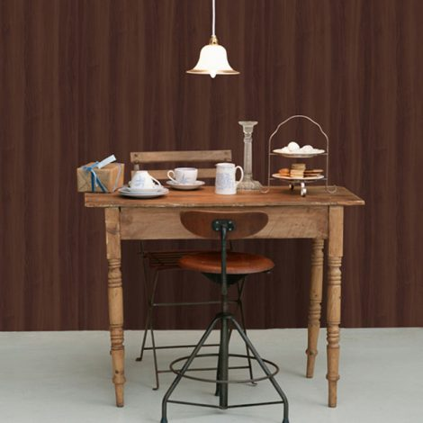 Walnut Brown Wood Contact Paper Peel Stick Wallpaper AWS-11010 Decoration