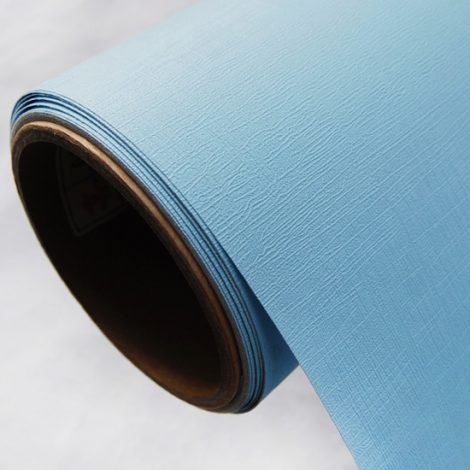 Blue Contact Paper Wall Covering Peel Stick Wallpaper AWS-12005 Roll