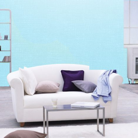 Blue Contact Paper Wall Covering Peel Stick Wallpaper AWS-12005 Decoration