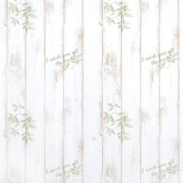 Shabby Panel Brown Contact Paper Peel Stick Wallpaper AWS-20001