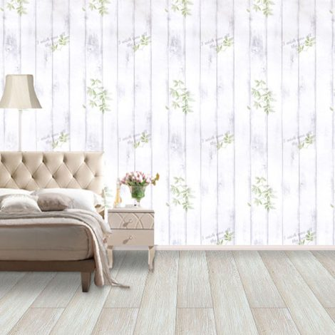 Shabby Panel Violet Contact Paper Peel Stick Wallpaper AWS-20002 Application