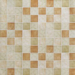 Classic Tile Brown Contact Paper Peel Stick Wallpaper AWS-20007