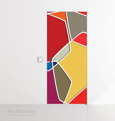 Color Composition Door Contact Paper Peel Stick Covering Sample
