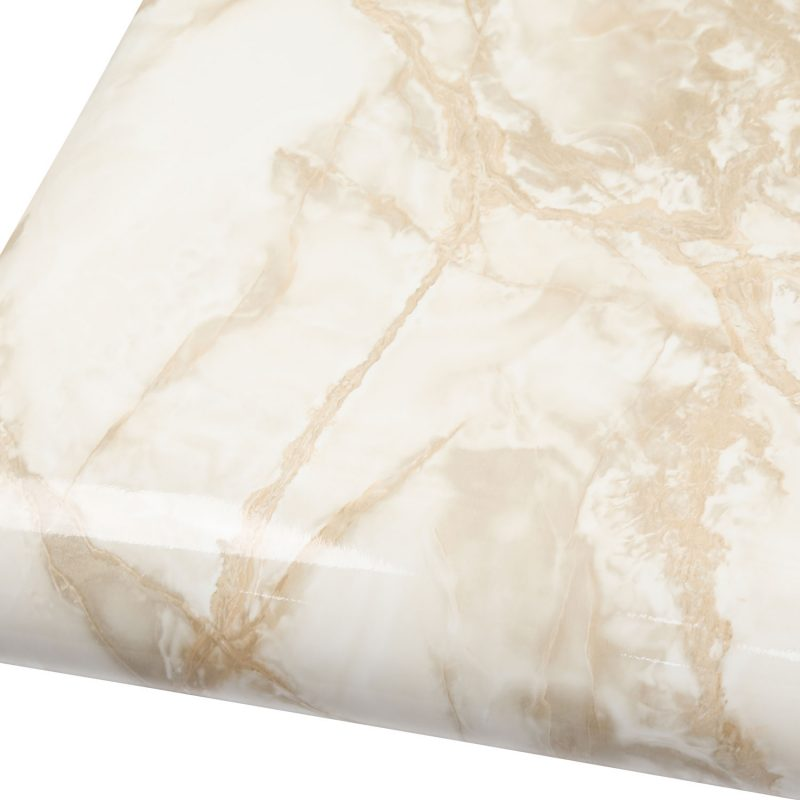 Marble Contact Paper Beige Gray Granite Wallpaper